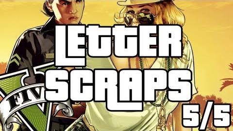 Grand Theft Auto 5 - Letter Scraps Locations - 5 5 - Northwest - GTA V