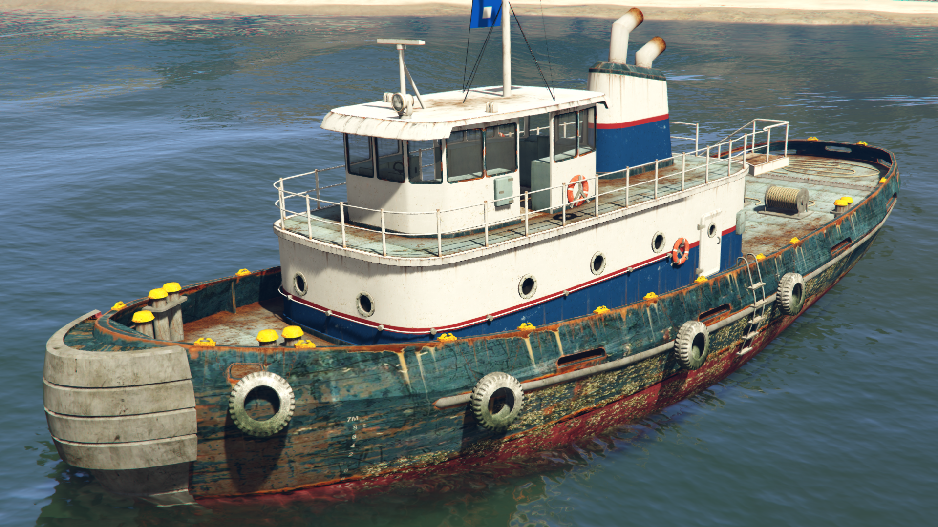Tug Gta Wiki Fandom Powered By Wikia
