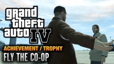 GTA 4 - Fly The Co-op Achievement Trophy (1080p)