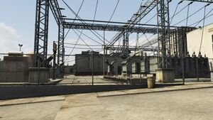 LSDWP Rancho Substation GTAV Overview
