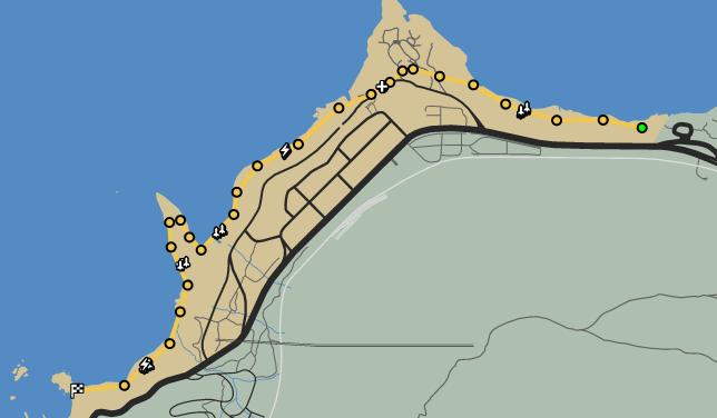 Turn The Tide GTAO Race Map