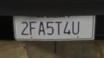 Custom Plate GTAO 2FA5T4U