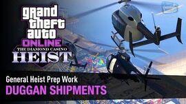 GTA Online The Diamond Casino Heist - Heist Prep Security Shipments Solo