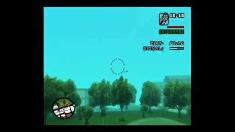 GTA San Andreas Mission Air Raid Fail Cursed you Berkley !!!
