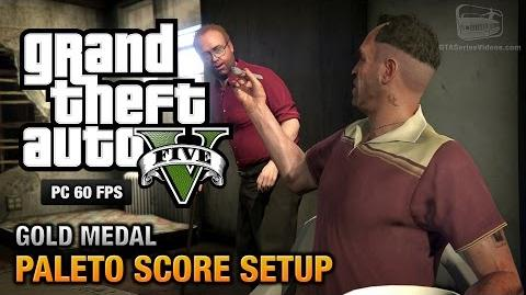 GTA 5 PC - Mission 49 - Paleto Score Setup Gold Medal Guide - 1080p 60fps