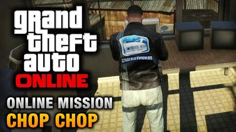 GTA Online - Mission - Chop Chop Hard Difficulty