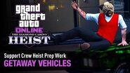 GTA Online The Diamond Casino Heist - Heist Prep Getaway Vehicles Solo (Valet Service)