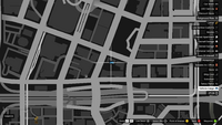 Vehicle Import Parked GTAO Caesars Parking Map