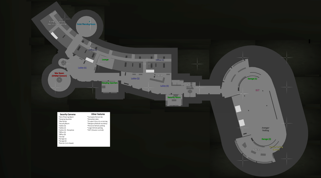 Facilities-GTAO-Floorplan Map Key