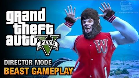 GTA 5 - Play as the Beast Director Mode Gameplay