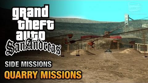 GTA San Andreas - Quarry Missions