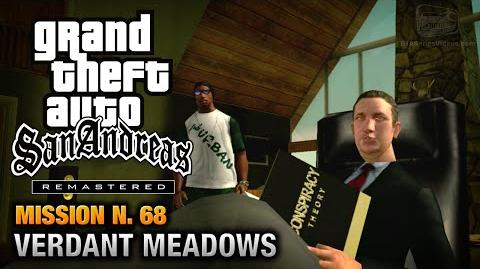 GTA San Andreas Remastered - Mission 68 - Verdant Meadows (Xbox 360 PS3)