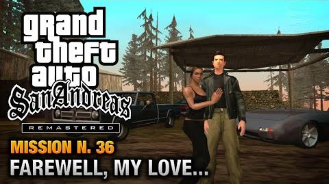 GTA San Andreas Remastered - Mission 36 - Farewell my Love... (Xbox 360 PS3)