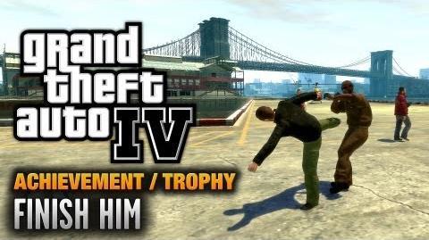 GTA 4 - Finish Him Achievement Trophy (1080p)