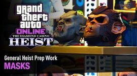 GTA Online The Diamond Casino Heist - Heist Prep Masks Solo