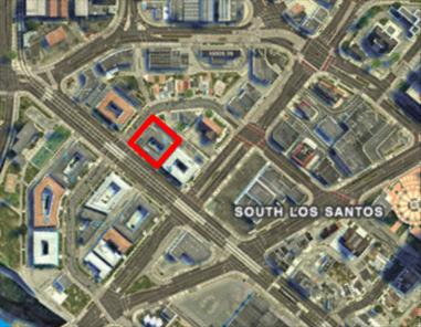 Casa Cristina GTAV Map Location
