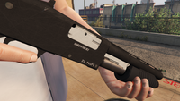 Sawed off Shotgun-GTAV-Markings
