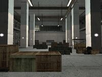 Big Smoke's Crack Palace Floor 1 Security Area Interior