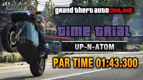 GTA Online - Time Trial 11 - Up-n-Atom (Under Par Time)