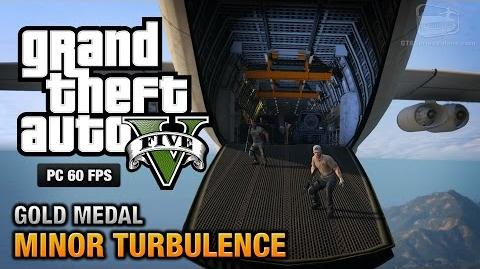 GTA 5 PC - Mission 47 - Minor Turbulence Gold Medal Guide - 1080p 60fps