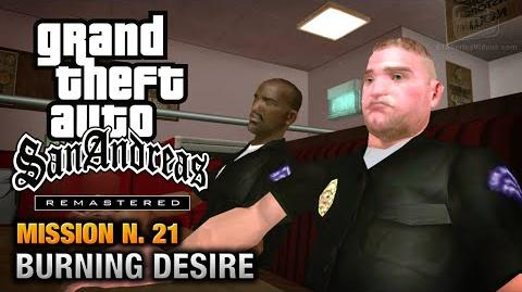 GTA San Andreas Remastered - Mission 21 - Burning Desire (Xbox 360 PS3)