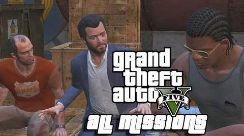 GTA V - All Missions Marathon - Walkthrough HD