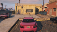 Chantelle's Beauty Salon GTAV Rear