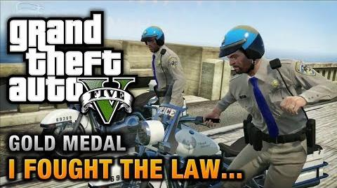 GTA 5 - Mission 41 - I Fought the Law... 100% Gold Medal Walkthrough