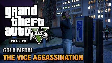 GTA 5 PC - Mission 42 - The Vice Assassination Gold Medal Guide - 1080p 60fps