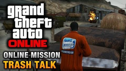 GTA Online - Mission - Trash Talk Hard Difficulty