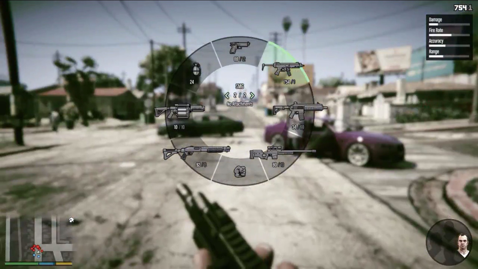 Gameplay. WeaponWheel-GTAV-next