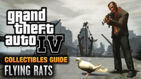 GTA 4 - Flying Rats Guide Endangered Species Achievement Trophy (1080p)