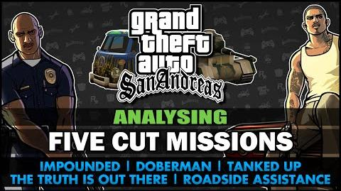GTA San Andreas - Five Cut Missions - Feat