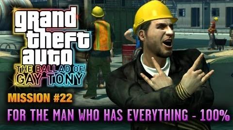GTA The Ballad of Gay Tony - Mission 22 - For The Man Who Has Everything 100% (1080p)