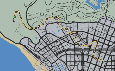 Art To Art GTAO Race Map