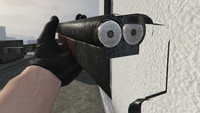 Double-Barrel Shotgun-GTAV-Markings