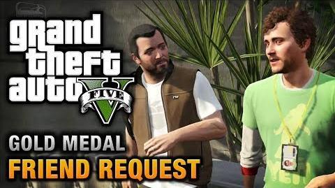 GTA 5 - Mission 8 - Friend Request 100% Gold Medal Walkthrough