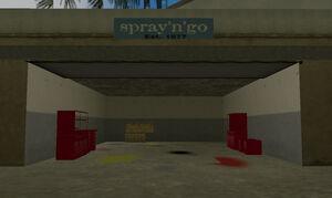 Spray'n'go-GTAVC-garage