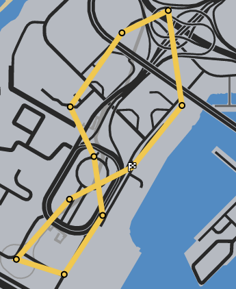 Swift Arrival GTAO Race Map