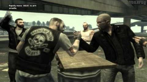 The Lost and Damned - Arm Wrestling