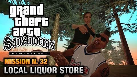 GTA San Andreas Remastered - Mission 32 - First Base Local Liquor Store (Xbox 360 PS3)