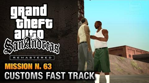 GTA San Andreas Remastered - Mission 63 - Customs Fast Tracks (Xbox 360 PS3)