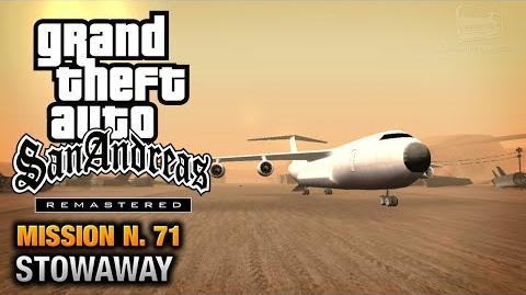 GTA San Andreas Remastered - Mission 71 - Stowaway (Xbox 360 PS3)