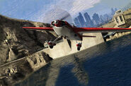 StuntPlane-Flying Over Dam-GTAV
