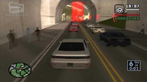 GTA San Andreas - Walkthrough - Street Race - San Fierro Fastlane (HD)