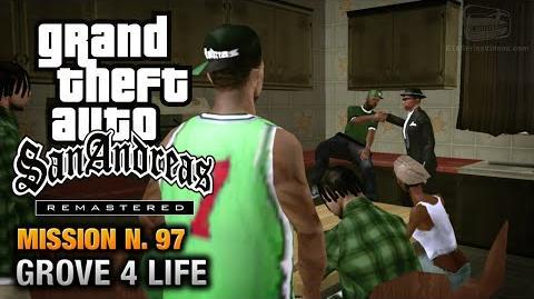 GTA San Andreas Remastered - Mission 97 - Grove 4 Life (Xbox 360 PS3)