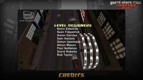 GTA Chinatown Wars - End Credits