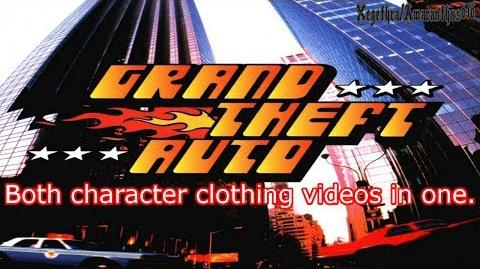 GTA 1 - Both character clothing videos in one - Re Upload