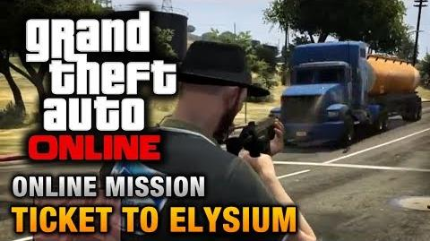 GTA Online - Mission - Ticket to Elysium Hard Difficulty
