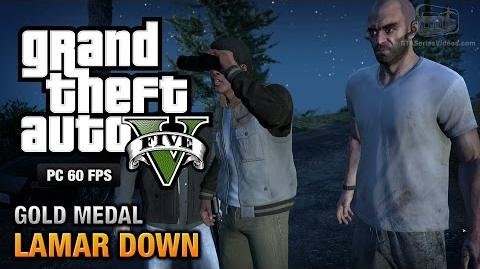 GTA 5 PC - Mission 70 - Lamar Down Gold Medal Guide - 1080p 60fps